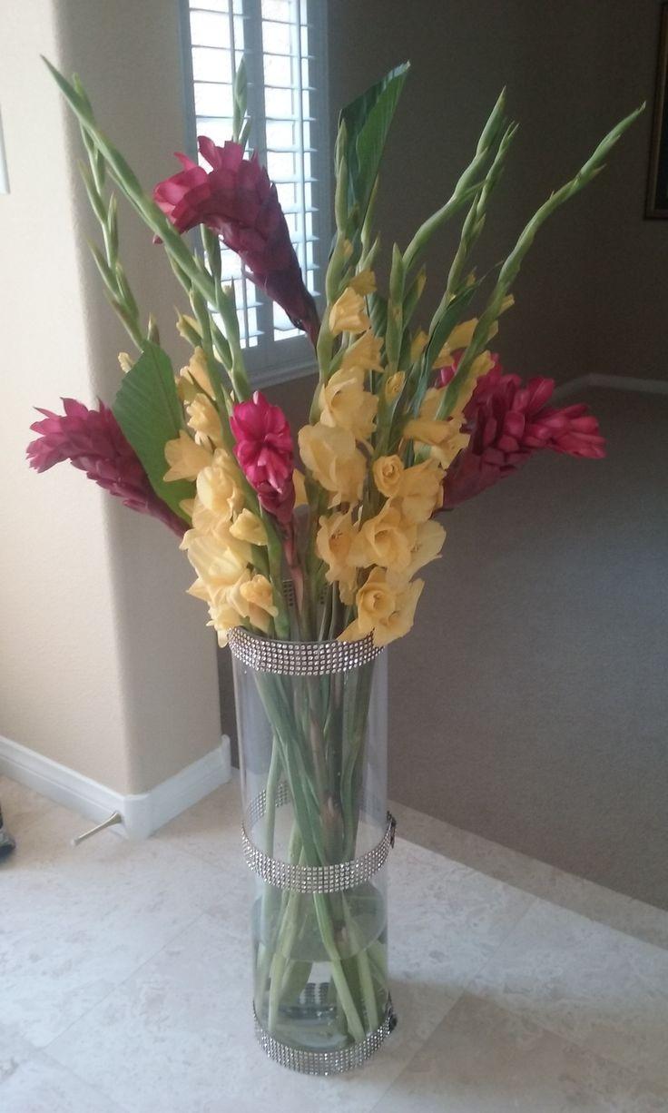 Ideas about gladiolus centerpiece on pinterest