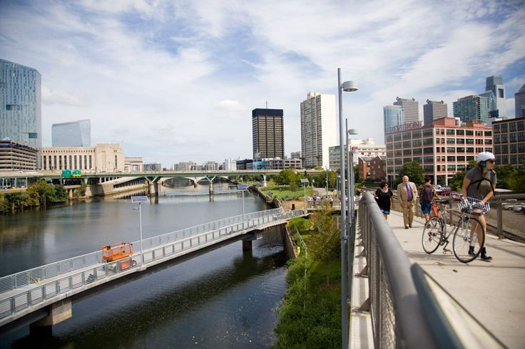Schuylkill Banks Boardwalk  http://www.visitphilly.com/articles/philadelphia/top-reasons-to-visit-the-awesome-new-schuylkill-banks-boardwalk/