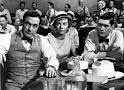 """Inherit the Wind"":  Gene Kelly as the H.L. Mencken reporter in the courtroom."