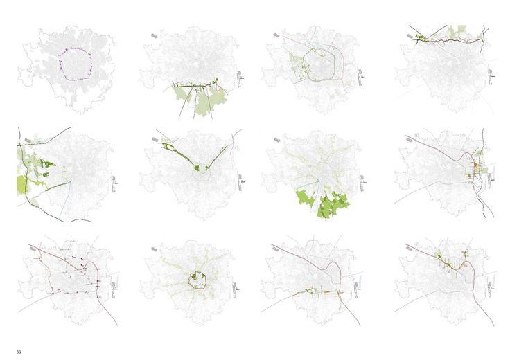 PGT MILAN   Gianmaria Quarta   Archinect   research map   urban planning