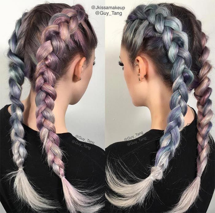 100 Ridiculously Awesome Braided Hairstyles: Dutch…