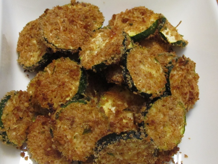 Baked Zucchini Chips | WW | Pinterest