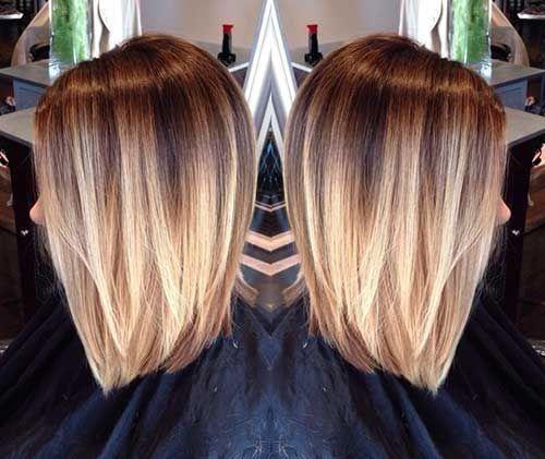 30 Ombré Hair Chic Pour Les cheveux Courts – Tendance Automne 2015 | Coiffure simple et facile
