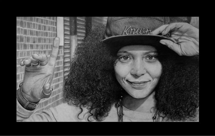 Read this. Keith More hyperrealistic pencil drawing A3 size.