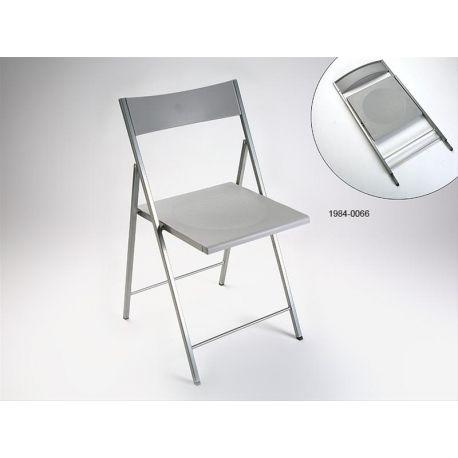 Silla plegable versa belfort silver, sillas de oficina baratas | Ferreteria Online