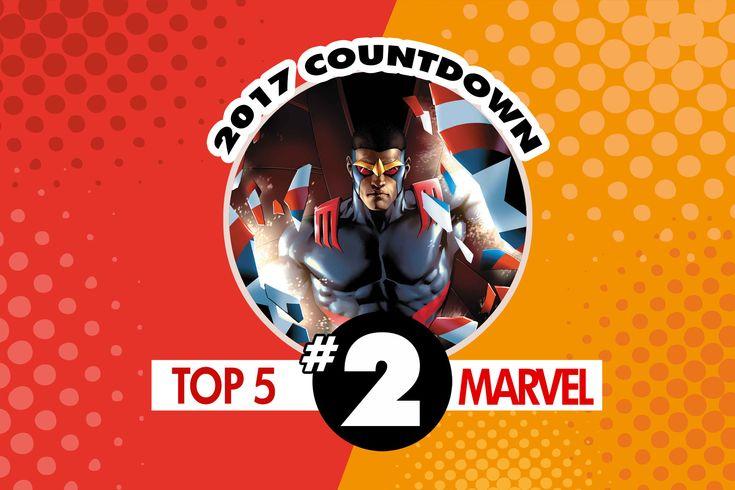 Top Marvel Comics of 2017 #2: The Falcon #1 by Rodney Barnes and Joshua Cassara