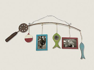 Wall D cor 166727: Fishing Pole Wood Picture Frame -> BUY IT NOW ONLY: $37.12 on eBay!