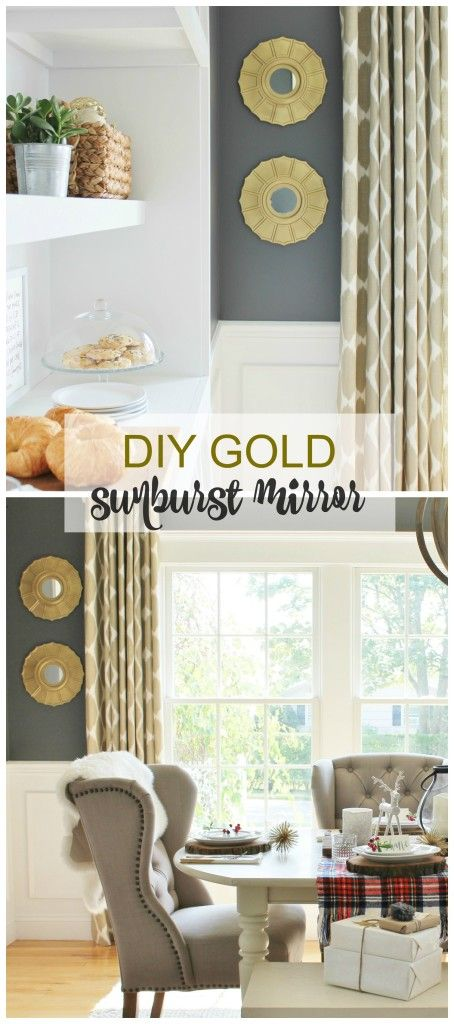 Easy DIY Sunburst Mirror + More Lowe's News