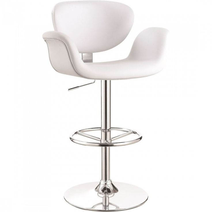 Contemporary Collection 100614 Coaster Adjustable Bar Stool