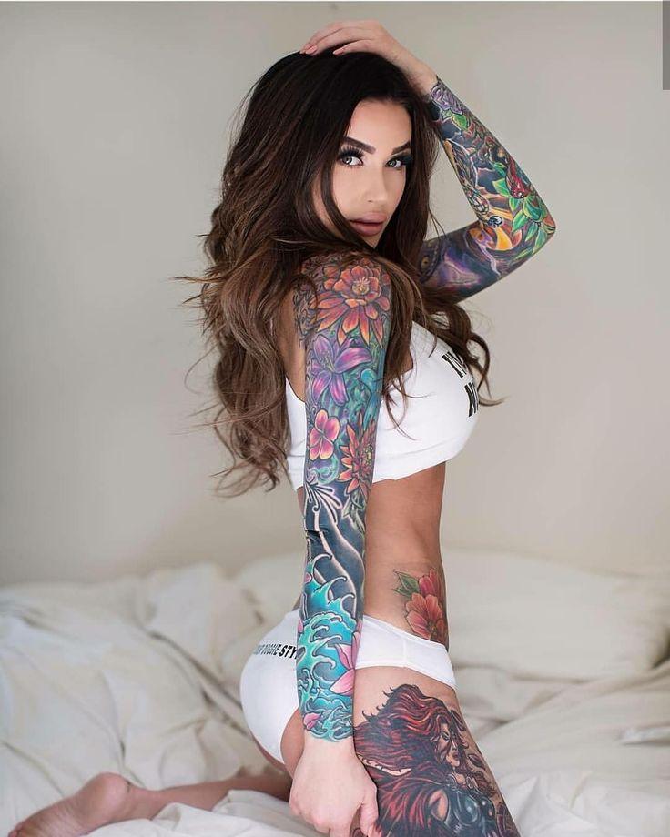 tumblr-girls-with-tattoos-sleeping-ex-gf-nude