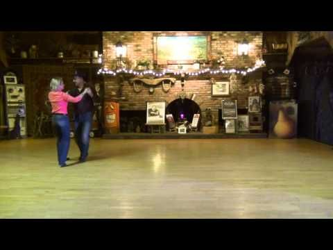 Bucket Seats Partner Dance Demo - YouTube.  Done at Stone Country & Silver Spur.   Taught at Coyote Moon Dance Workshop 28 March 2015.