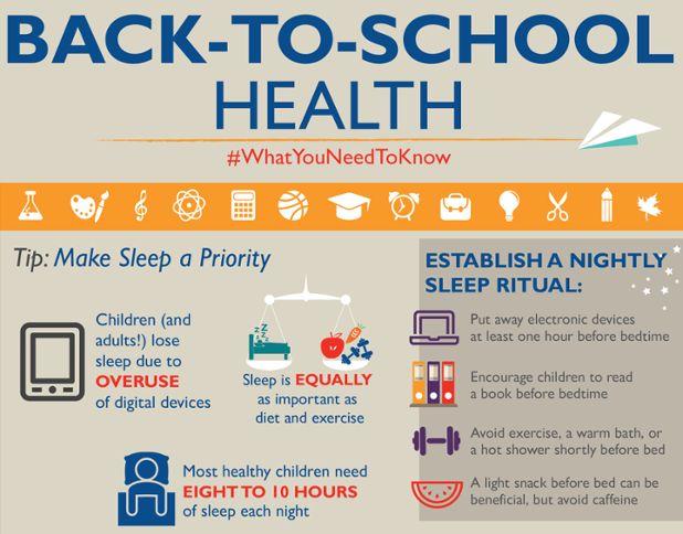 Tip: Make sleep a priority!