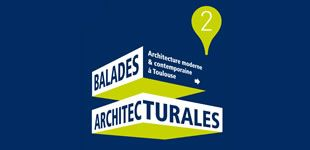 Téléchargez gratuitement les Balades architecturales (2ème circuit) : architecture moderne et contemporaine à Toulouse © Office de tourisme et Toulouse Métropole #visiteztoulouse