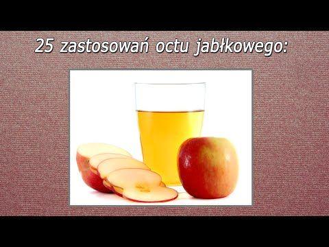 ▶ 25 Nietypowych Zastosowań Octu Jabłkowego - YouTube