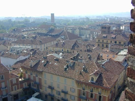 Asti, view from the Torre Troiana (Troiana Tower)