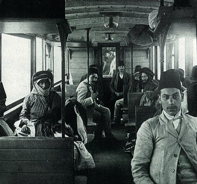 Ottoman Train Passengers by Ottoman History Podcast, via Flickr