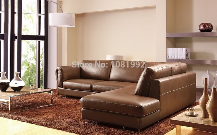 Find More Living Room Sofas Information about Italy Leather Sofa Sectional|Leather Sofa Mill|Leather Sectional Sofas Modern corner sofa top Genuine leather 8249,High Quality sofa italian,China sofa button Suppliers, Cheap sofa model from JR HAWAII SOFA on Aliexpress.com