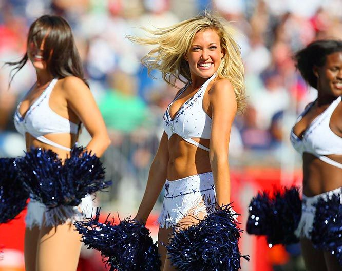 New England Patriots Cheerleaders: NFL Week 1