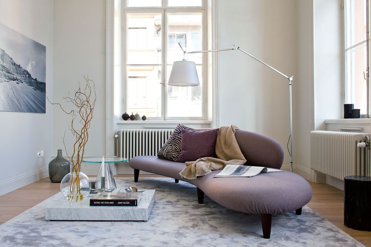 Oscar Properties #oscarproperties  Lyceum, Oscar Properties, Stockholm, work, desk, interior, design, sofa, lamp, window