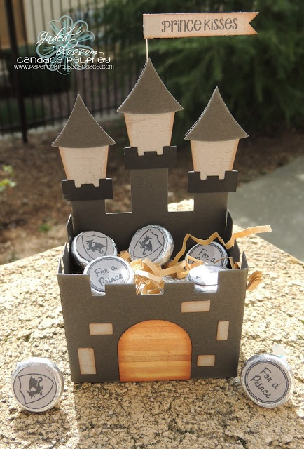 Kingdom Rock -Castle Box..can be used for candy, snacks, etc