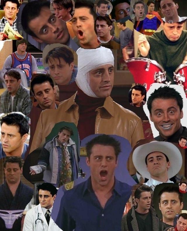 Many faces of Joey Tribbiani