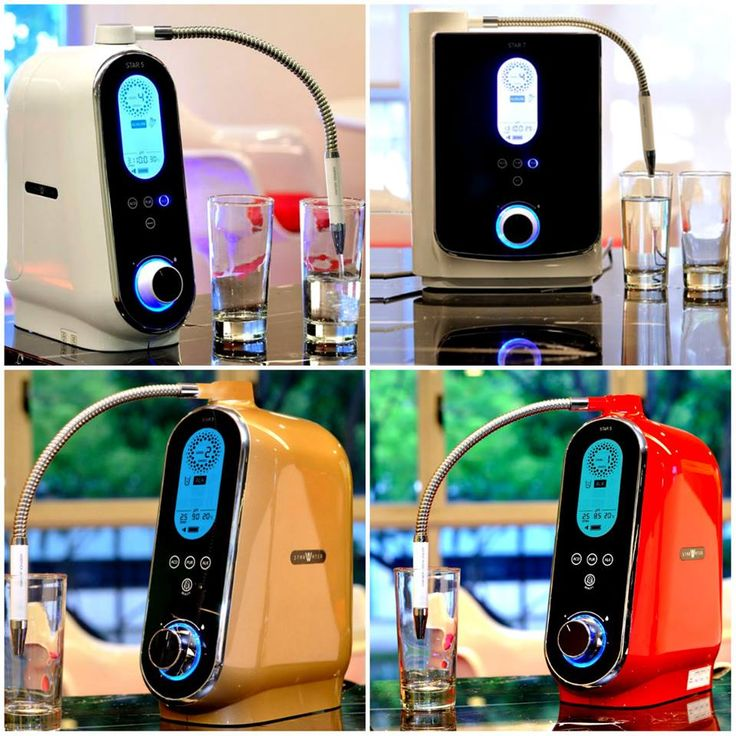 Our Starwater Ionizers can be enjoyed in different colors! What color do you have at home? #starwater #waterionizers #alkalinewater