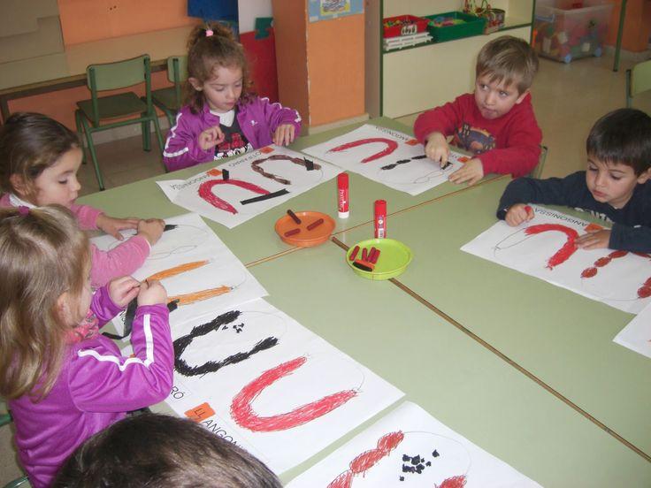 Treballant el vocabulari a Sant Antoni