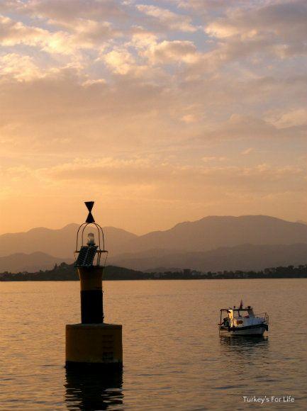 Sunset - #Fethiye To Çalış Water Taxi, #Turkey