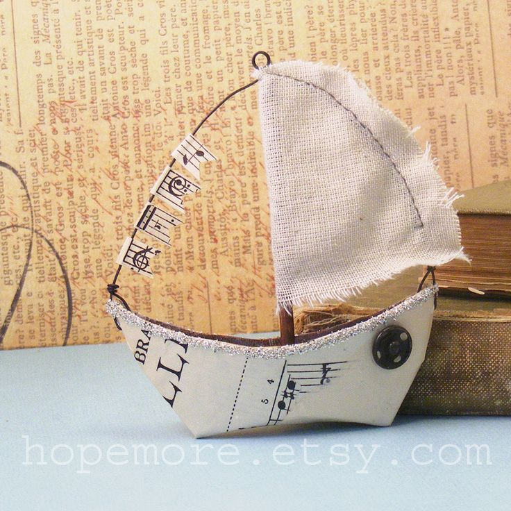 95 best nautical crafts ideas images on pinterest craft ideas nautical sailboat ornament mixed media assemblage by hopemore nautical craftdiy solutioingenieria Image collections