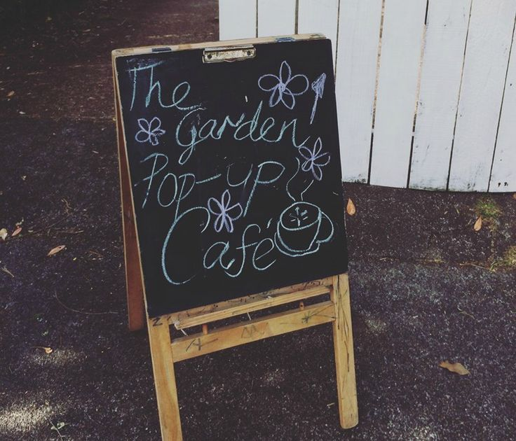 fundraising idea host a pop up cafe in your garden in the school holidays greatfun4kids blog pinterest fundraising ideas and parents - Slate Cafe Ideas