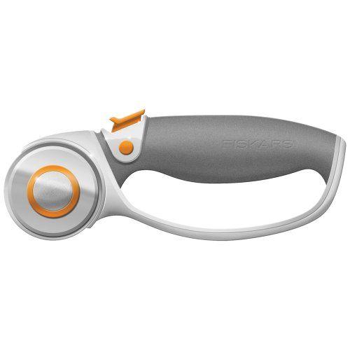 Fiskars 45-Millimeter Titanium Softgrip Comfort Loop Handle Rotary Cutter
