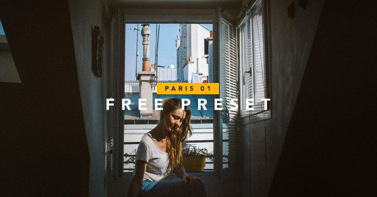 Here you go! A #freebie #preset i made for #Lightroom. Hope you like it! http://proclaim.nu/paris-01 - https://www.fb.me/proclaimdesign