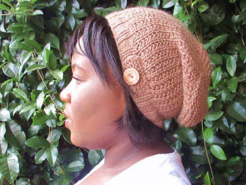 Apple Slouchy Beanie Knitting Pattern
