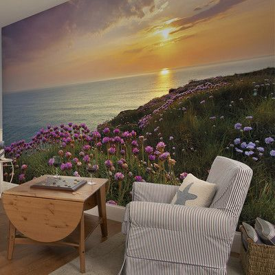 Features:  -Washable.  -Apply with included paste.  Product Type: -Wall mural.  Theme: -Landscape.  Color: -Multi-colored.  Number of Items Included: -2.  Compatible Surface Type: -Flat surface.  Appl