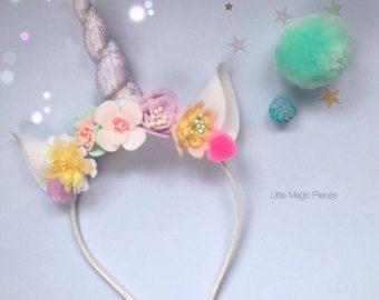 Oh Deer Mask Glitter Antlers Headband от LittleMagicPieces на Etsy