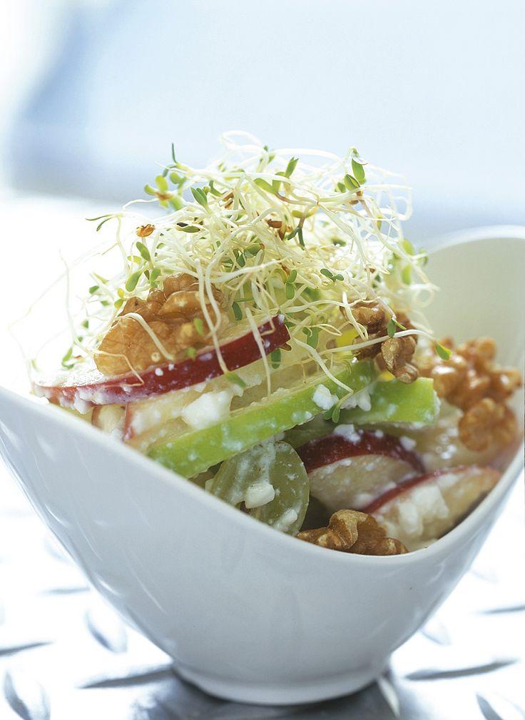 Sprout Recipes, My Recipes, Healthy Recipes, Halal Snacks, Apple Walnut Salad, Alfalfa Sprouts, Seaweed Salad, Cabbage, Veggies