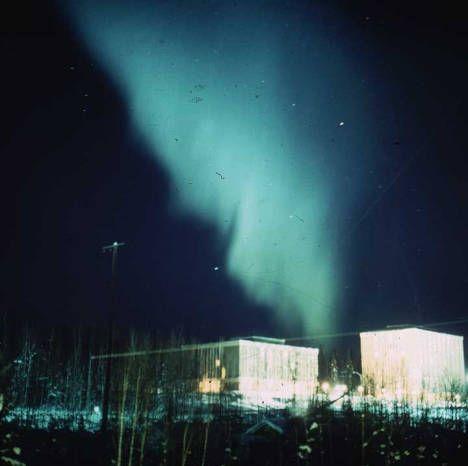 Northern lights: University of Alaska Fairbanks sometime before 1969