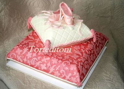 ~ Sugar Teachers ~ Cake Decorating and Sugar Art Tutorials: How to make a Pillow (Cushion) Cake by Toni Brancatisano