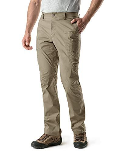 Cqr Cq Txp401 Tan 34w 32l Men S Outdoor Adventure Rugged Pants Hiking Camping Stretch Durable Upf 50 Quick Dry Cargo Trousers