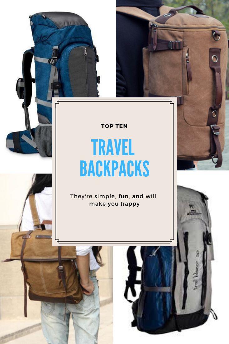 Top Ten Travel Backpacks