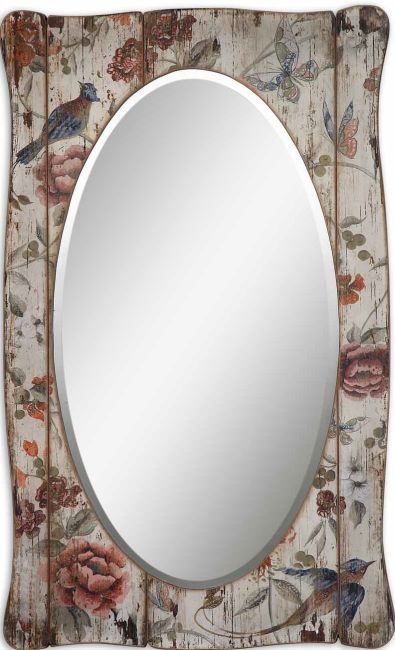 wood panel, floral mirror... or what ever else you want it to be..