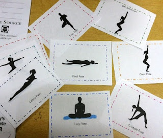 Yoga Cards for Your Mini Yogis. Pinned by The Sensory Spectrum, bit.ly/GUWLzJ.