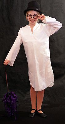 Peter pan john #neverland victorian #cotton white #nightshirt set all ages, View more on the LINK: http://www.zeppy.io/product/gb/2/320617918804/