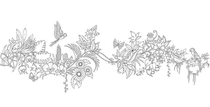 Магія джунглів. Розмальовка-антистрес читать книгу онлайн. Автор книги Басфорд Джоанна. Читать отдельные страницы книги.