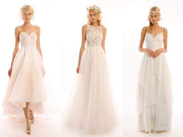 Eugenia Couture's Fall 2016 Wedding Dresses Are Sweet and Simple | TheKnot.com