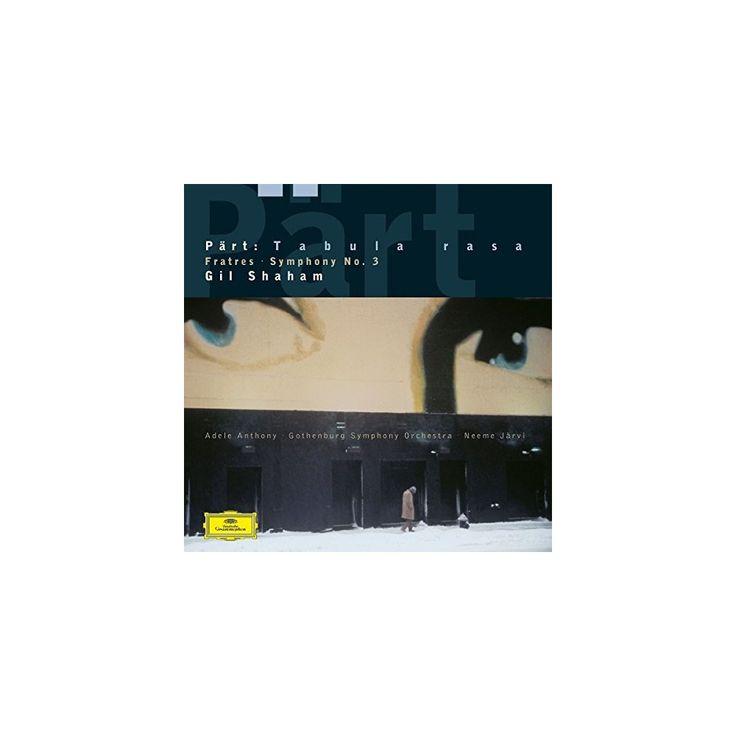Shaham & Jarvi & Goteborgs Symfoniker - Arvo Part: Fratres / Tabula Rasa / Symphony No 3 (Vinyl)