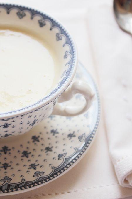 Vichyssoise o crema fría de puerros