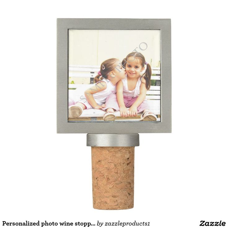 #Personalized photo #winestopper. Make your own!