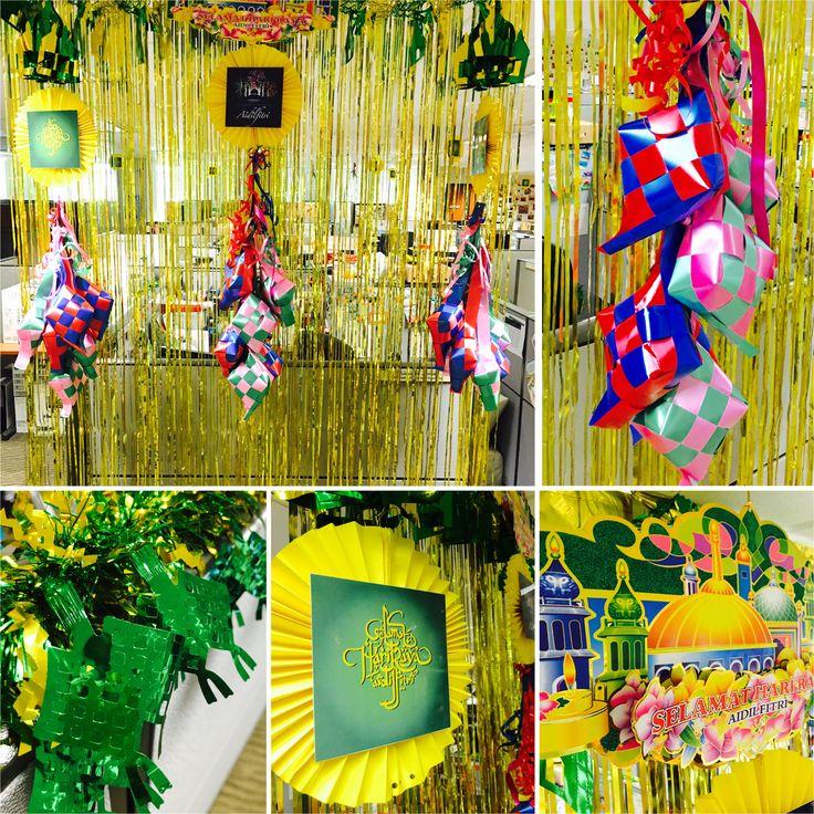 Eid/Hari Raya Aidilfitri decorations
