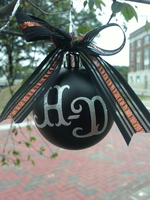 Harley-Davidson Christmas Ornament